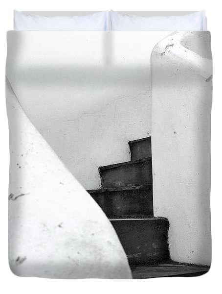 Minimal Staircase Duvet Cover