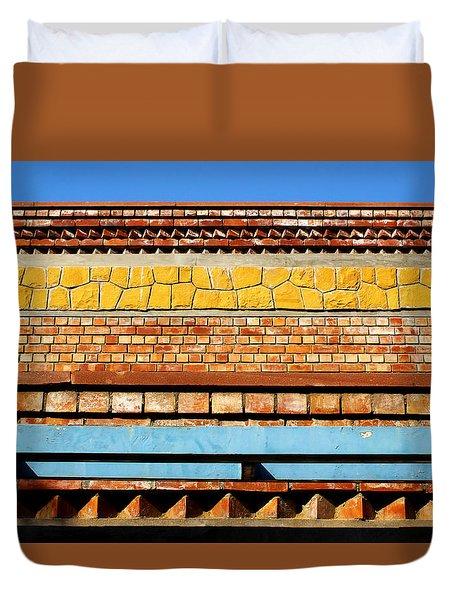 Minimal Sundae Duvet Cover by Prakash Ghai