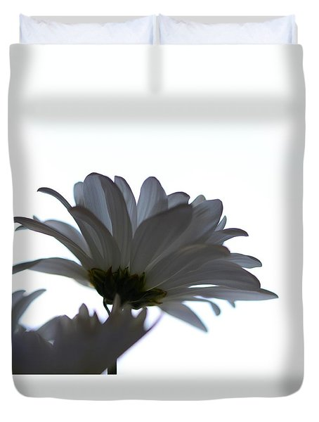 Duvet Cover featuring the photograph Minimalism by Corinne Rhode