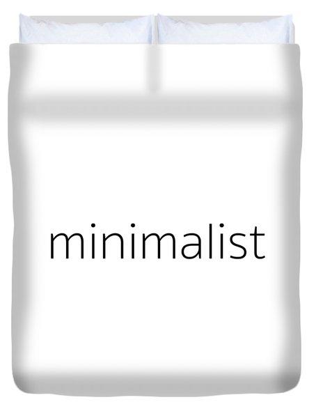 Minimalist Duvet Cover