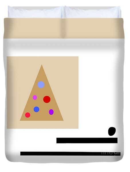 Minimalistic Christmas Duvet Cover