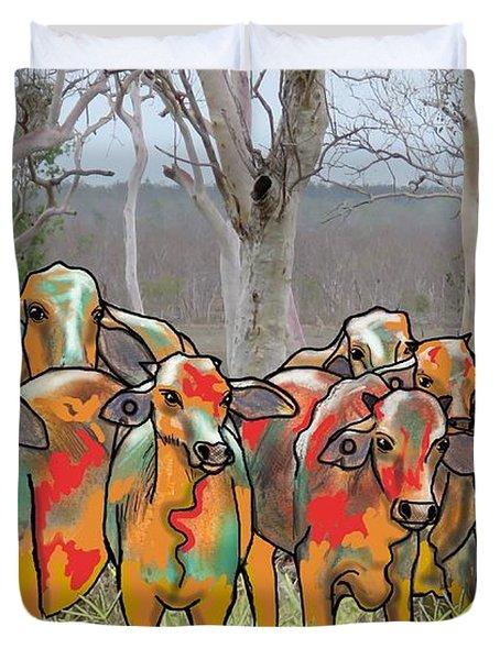 Minnamooooo...cows Duvet Cover