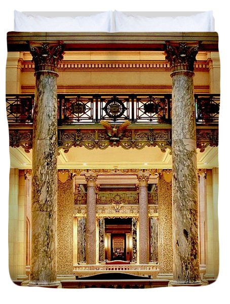 Minnesota Capitol Senate Duvet Cover