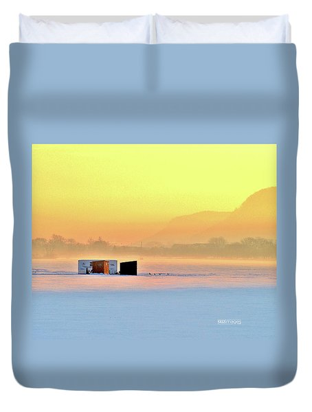 Minnesota Sunrise Duvet Cover