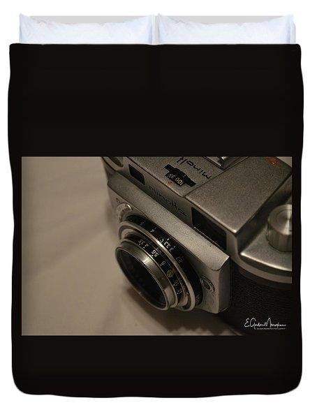 Minolta A Duvet Cover by Gordon Mooneyhan
