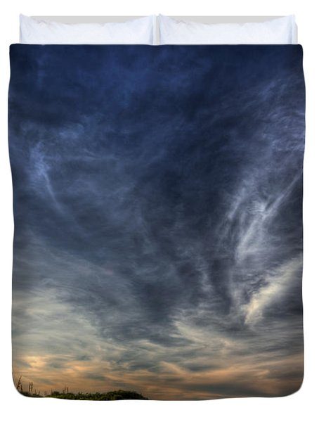 Minor Earth. Major Sky. Duvet Cover