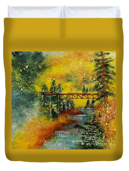 Minturn In Autumn Duvet Cover