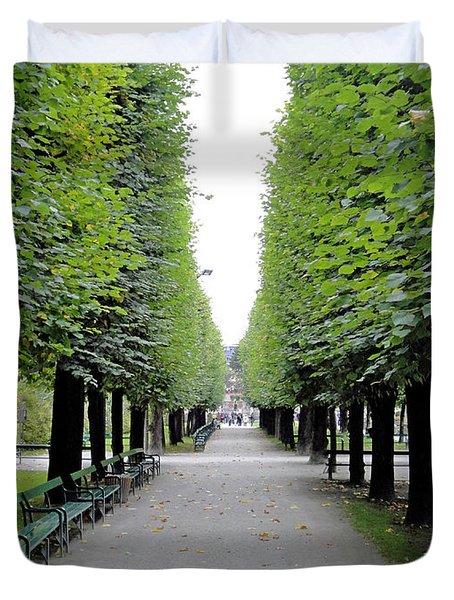 Mirabell Garden Alley Duvet Cover