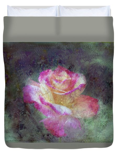 Mirage Rose Duvet Cover by Don Wright
