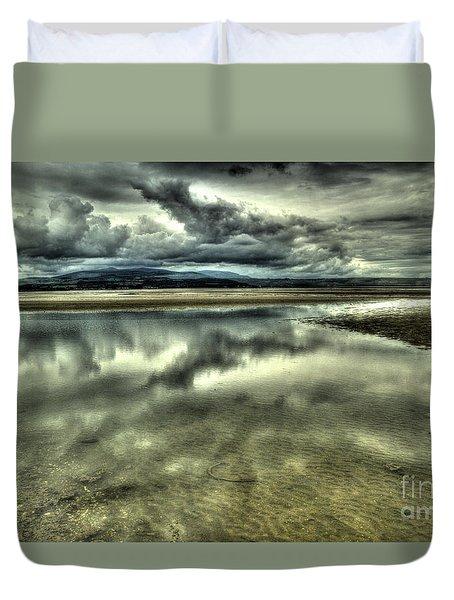 Mirror Beach Duvet Cover