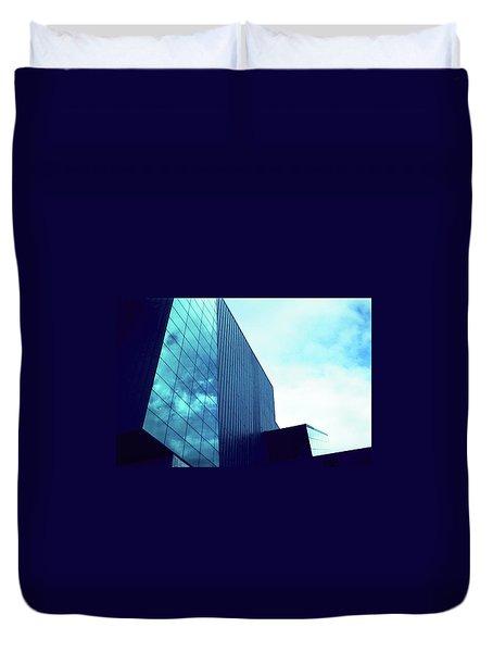 Mirror Building 1 Duvet Cover