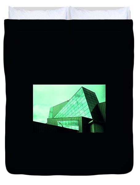 Mirror Building 3 Duvet Cover