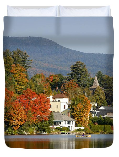 Mirror Lake Duvet Cover by David Lee Thompson