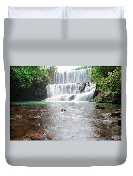 Mirror Lake Falls 2 Duvet Cover