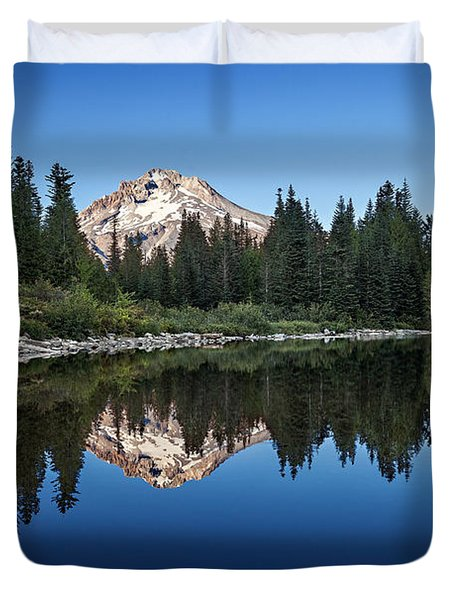 Mirror Lake Duvet Cover by Ian Good