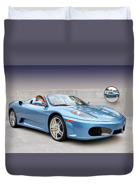 Mirror Mirror Duvet Cover by Bill Dutting
