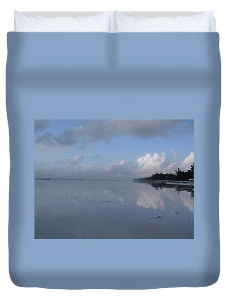 Mirror Ocean Water Duvet Cover