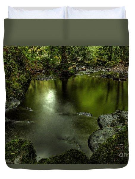 Mirror Pool Duvet Cover