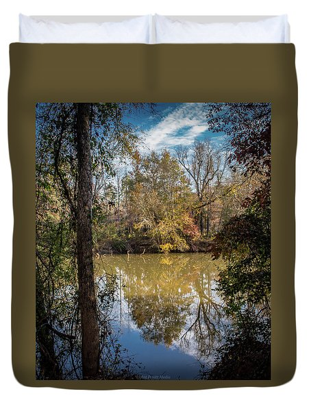 Mirror River Duvet Cover