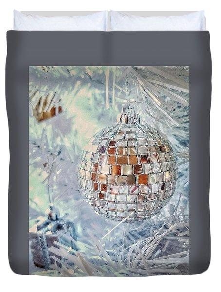 Mirror Tree Ornament Duvet Cover
