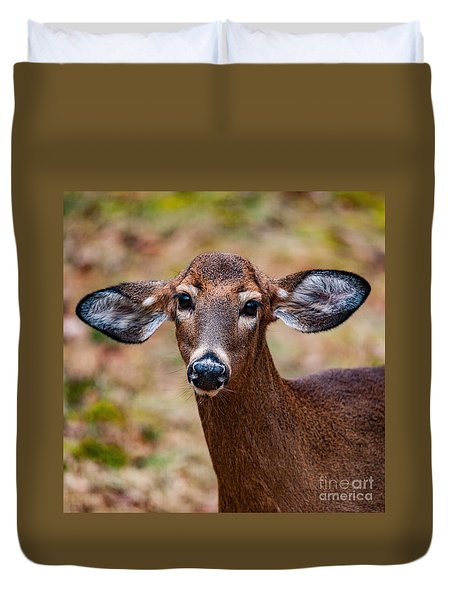 Miss Deer 1 Duvet Cover