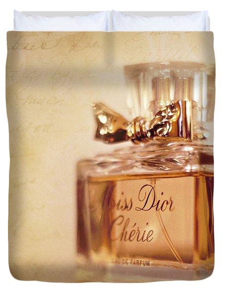 Miss Dior Duvet Cover by Susan Bordelon