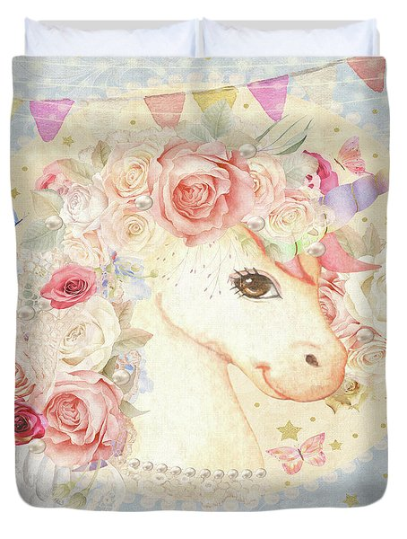 Miss Lolly Unicorn Duvet Cover