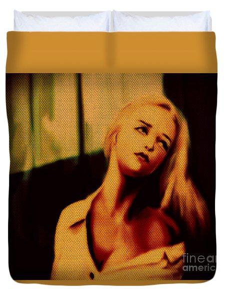 Miss U  Duvet Cover