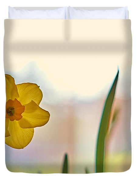Miss Yellow Duvet Cover