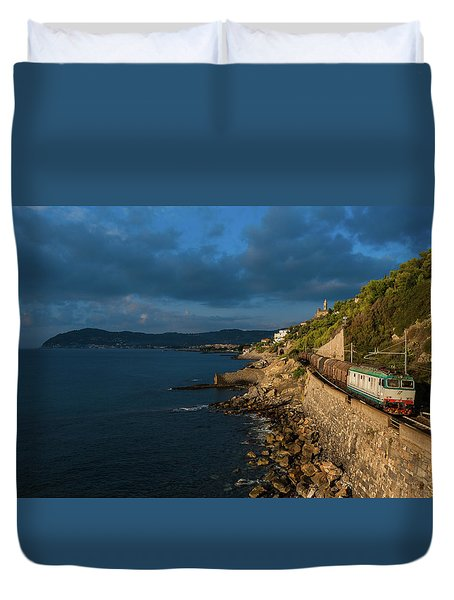 Missing Railway Duvet Cover by Andrea Sosio