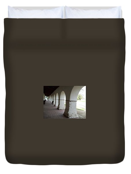 Mission Arches Duvet Cover
