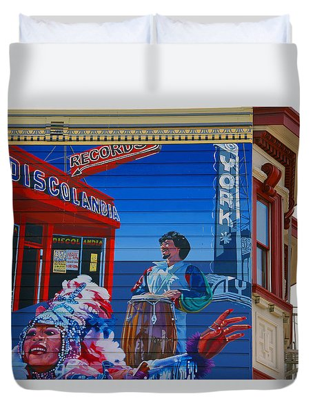 @mission District Sf Duvet Cover