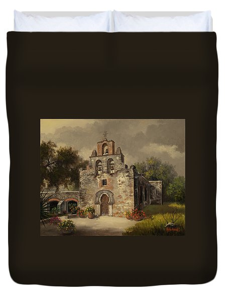 Mission Espada Duvet Cover