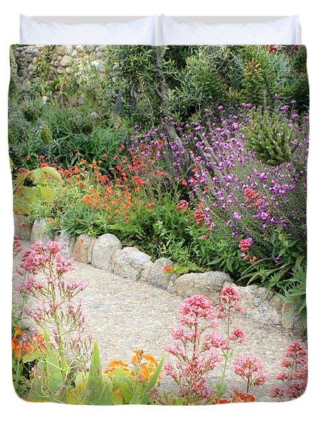 Mission Garden Duvet Cover by Carol Groenen