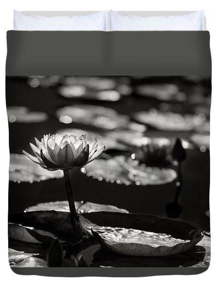Mission Lotus Duvet Cover