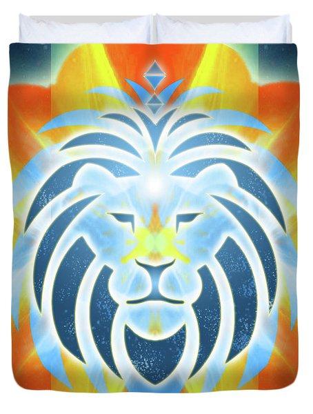Mission Piece 2b Lions Gate Duvet Cover