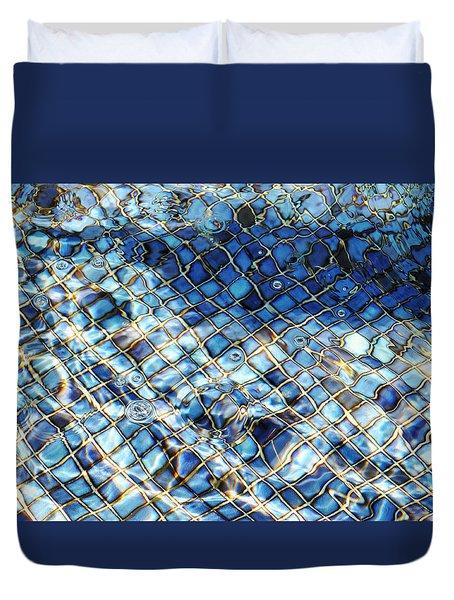 Mission San Buenaventura Mosaic Duvet Cover
