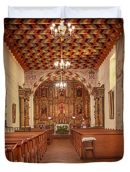 Mission San Francisco De Asis Interior Duvet Cover