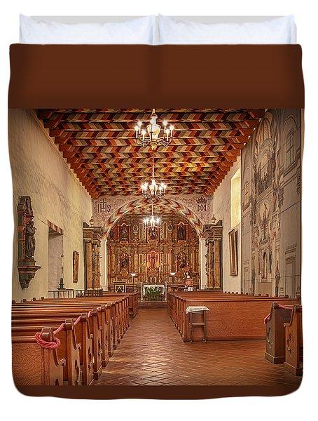 Mission San Francisco De Asis Interior Duvet Cover