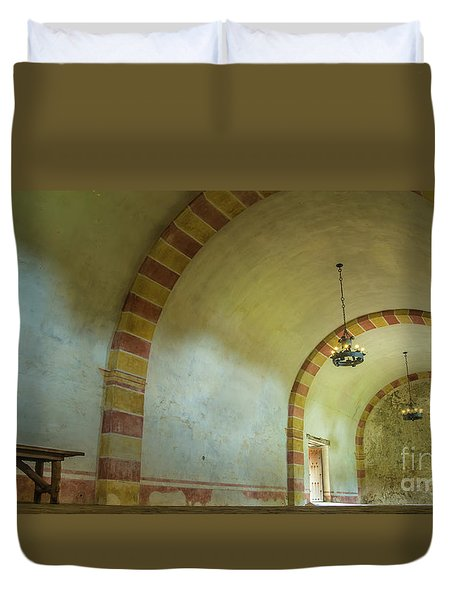 The Granary At Mission San Jose  Duvet Cover