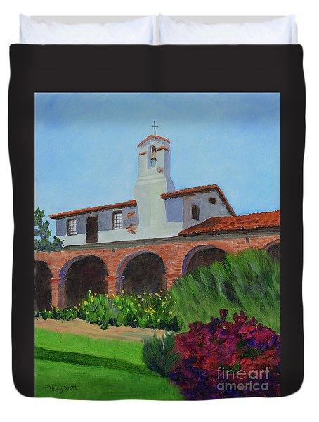 Mission San Juan Capistrano Duvet Cover
