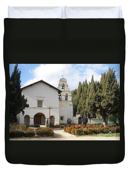 Mission San Juan Duvet Cover