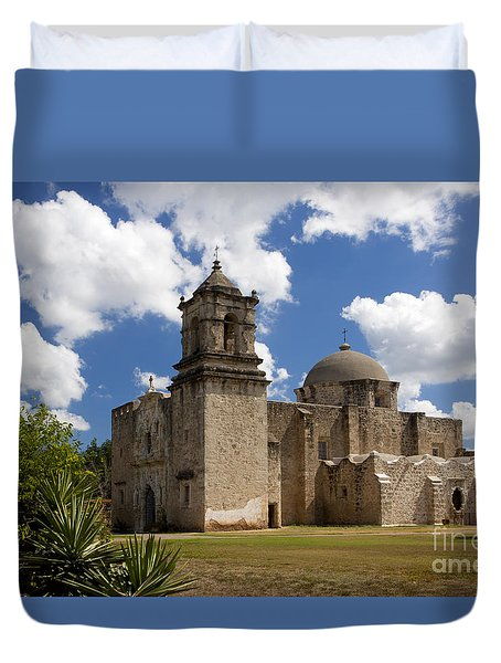 Mission San Juan Duvet Cover