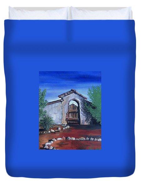 Rustic Charm Duvet Cover by Mary Ellen Frazee