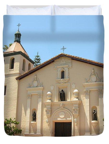 Mission Santa Clara Duvet Cover