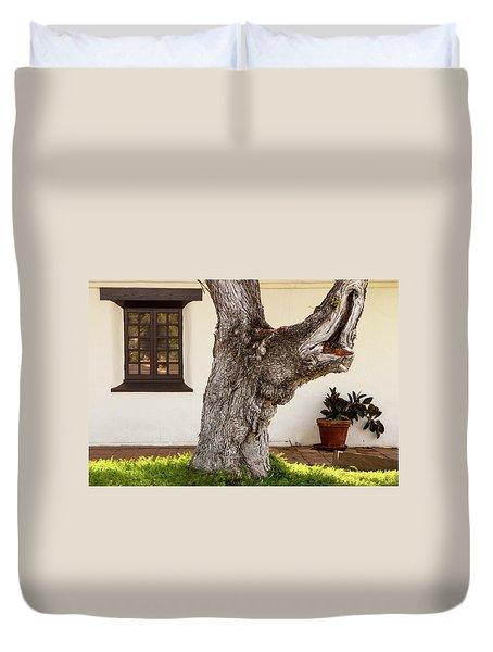 Mission Tree Duvet Cover