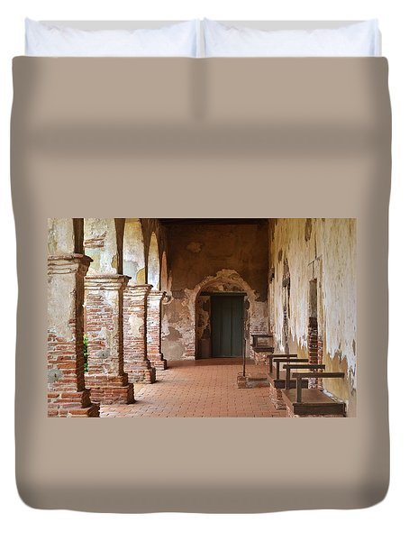 Mission Walkway Duvet Cover
