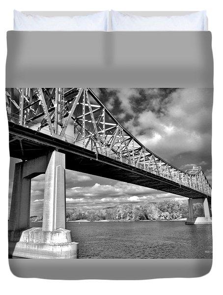 Mississippi Crossing Duvet Cover
