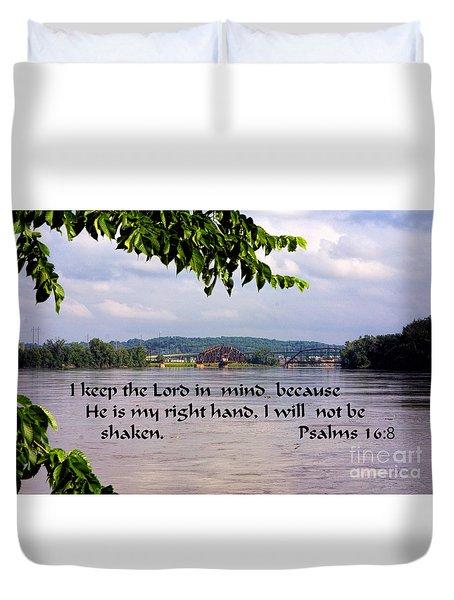 Mississippi River Olams 16v8 Duvet Cover
