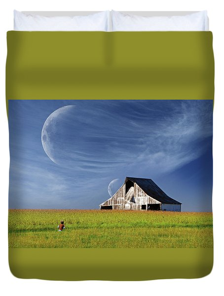 Missouri Hallucination Duvet Cover